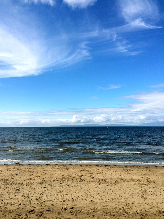 Ananyah- Road Trip Adventures- Ayr Beach Sea View