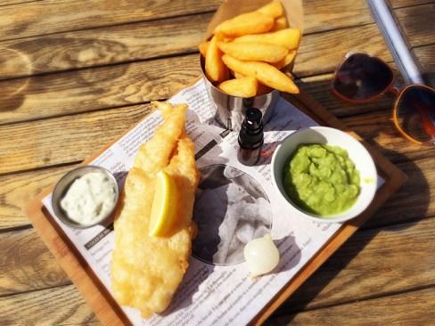 Ananyah- Road Trip Adventures- The Waterfront Fish and Chips