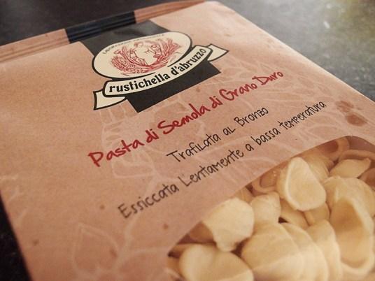 Orecchiette alla Potentina- Orecchiette Pasta