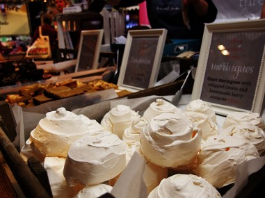 BBC Good Food Show Scotland 2015- Three Sisters Bake Meringues