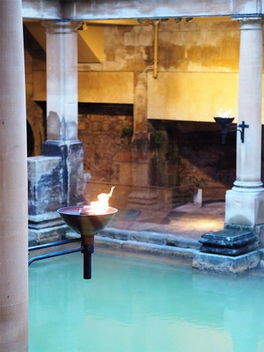 Exploring The Roman Baths- Peaking through to the Great Bath