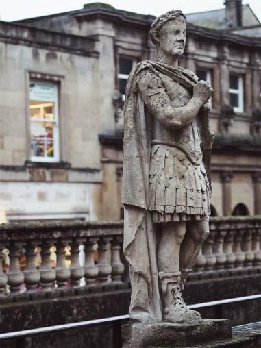 Exploring The Roman Baths- Roman Statue