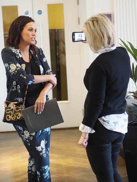 Millennial Mondays at Blythswood Square Hotel- Jean Johansson and Bev Lyons