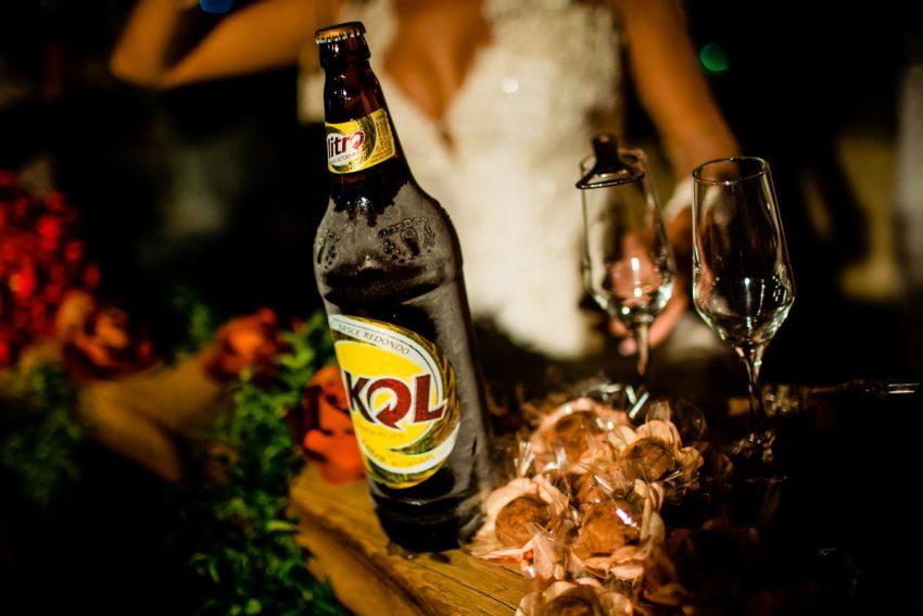 wedding toast beer