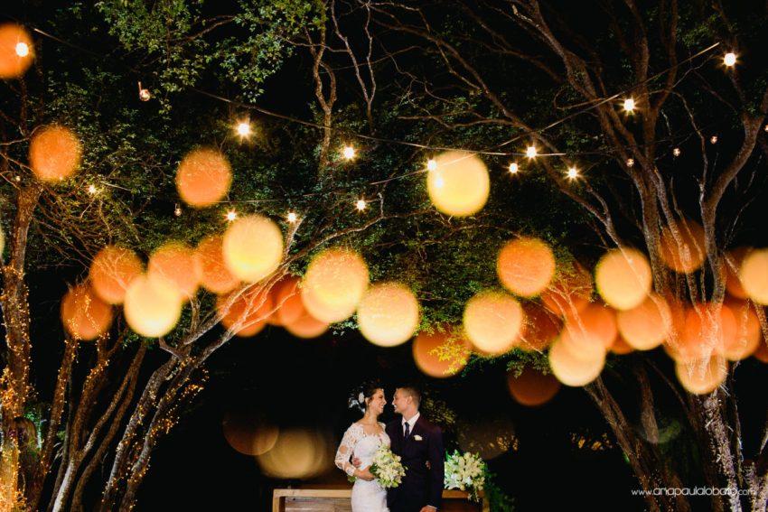 ideias para decoração de casamento com luzinhas