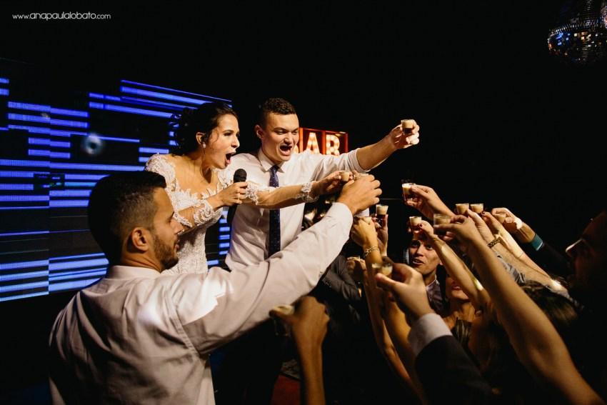 groomsman and bridesmaid toast