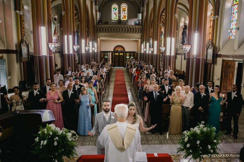 wedding in the church