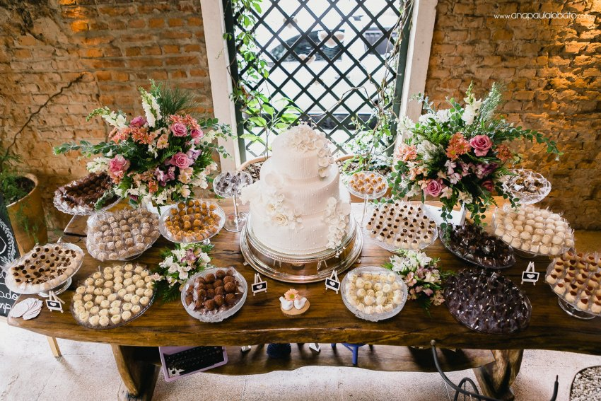 cake and sweets for wedding