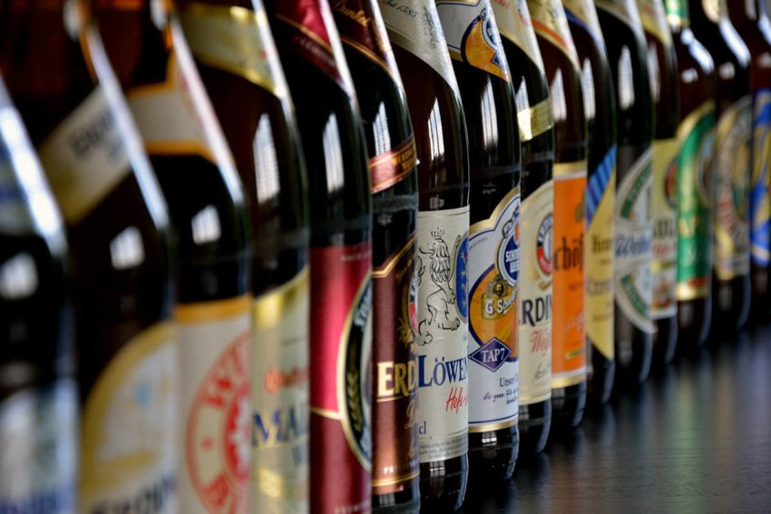 a lot of beers for destination wedding