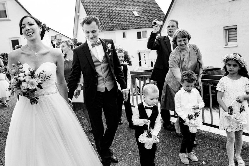 funny kids in german wedding