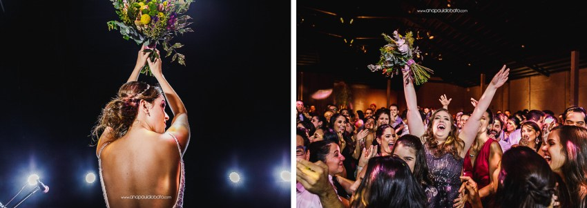 colorful flowers for Gorgeous sunset wedding in Brazil