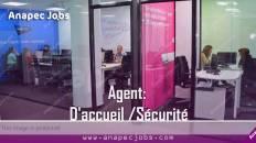 Agent D'accueil recrute