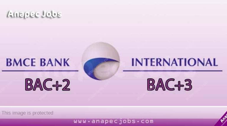BMCE Bank Recrute des Chargés d'Affaire Entreprise BAC+2/3