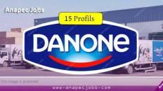 Centrale Danone recrute 15 Profils