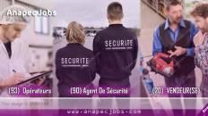 plusieurs offres de recrutement : Agent De Sécurité, Opérateurs De Machine, VENDEUR(SE)