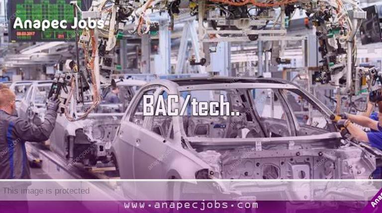 تشغيل 50 عامل وعاملة إنتاج في صناعة السيارات بطنجة