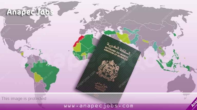 بلدان بدون تأشيرة قائمة الدول التي يستطيع المغاربة السفر اليها فقط بجواز السفر المغربي دون فيزا