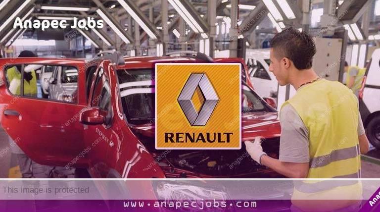العمل في شركة رونو المغرب Renault Maroc بضغط زر ادخل وسجل نفسك