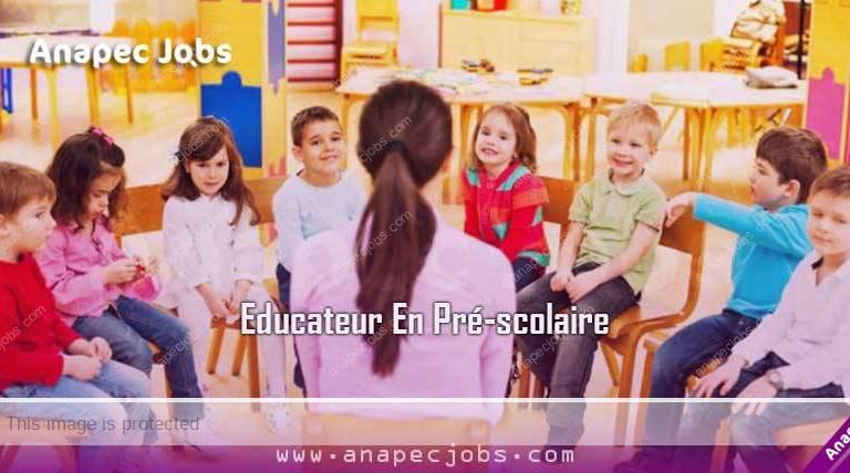 (16) Educateur En Pré-scolaire sur SIDI IFNI