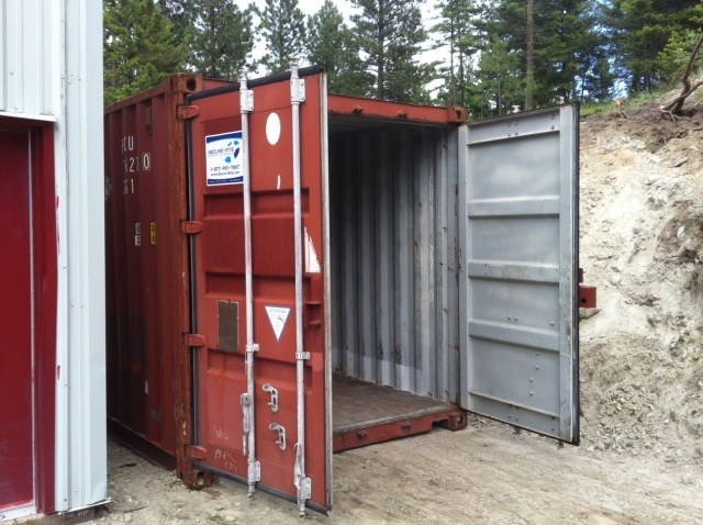 New Shipping Container for Storage