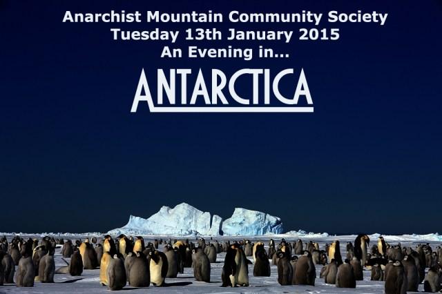 Notice of Talk - Antartica