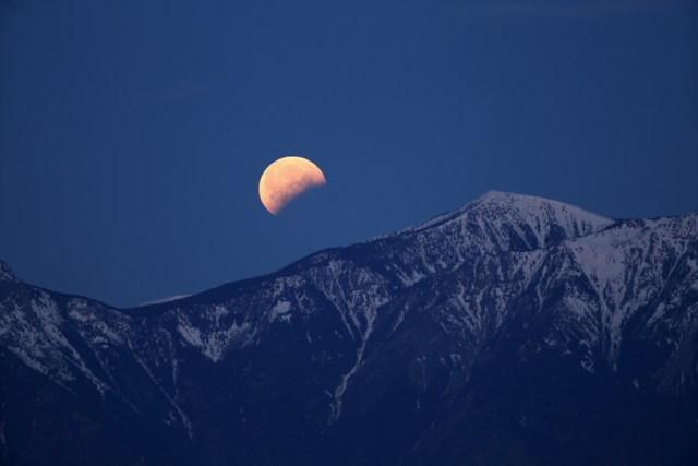 lunar eclipse wide