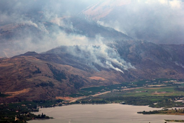 Oliver fire aug 15 2015