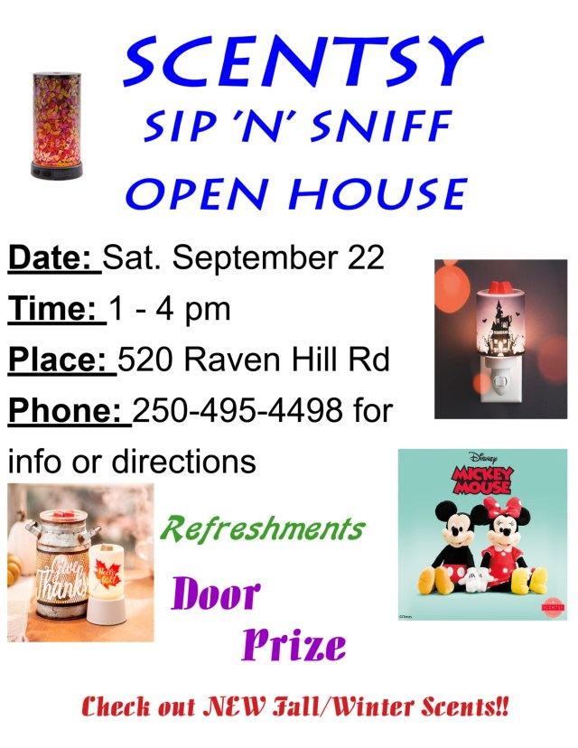 Scentsy Open House 1
