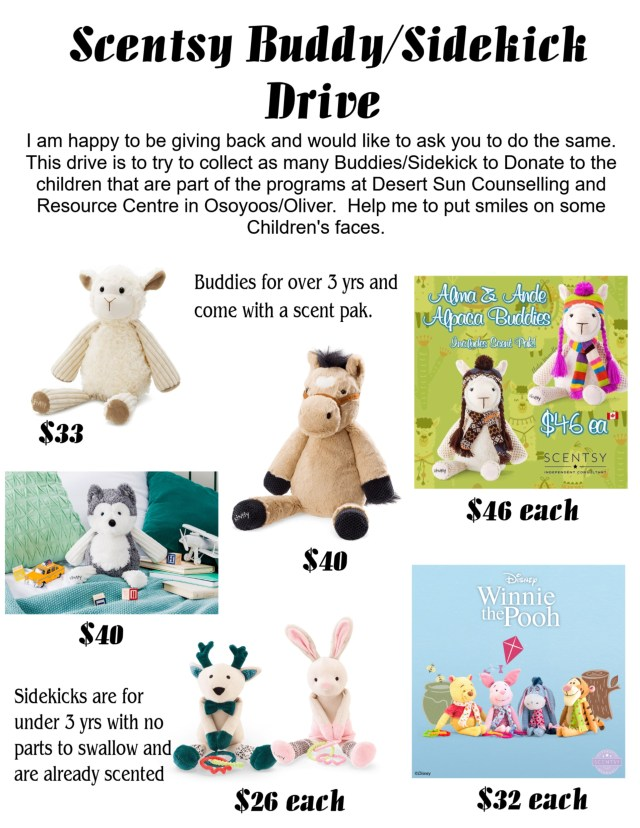 Scentsy Buddy Drive