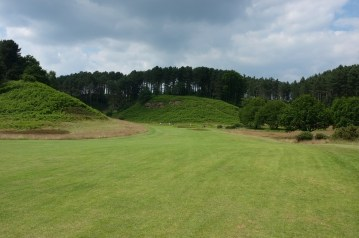The view from the 2nd fairway.
