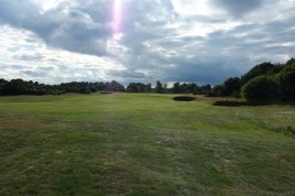 The view from the start of the 11th fairway.