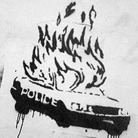 police_car_on_flames