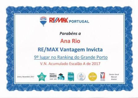 Remax Portugal 1711 VN Acumulado 17T3 9º