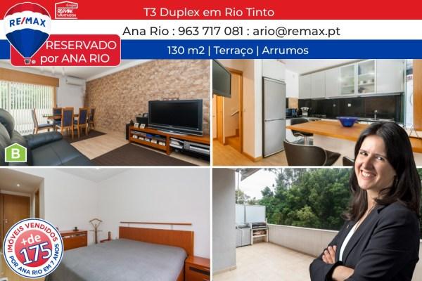 Reservado T3 Duplex em Rio Tinto