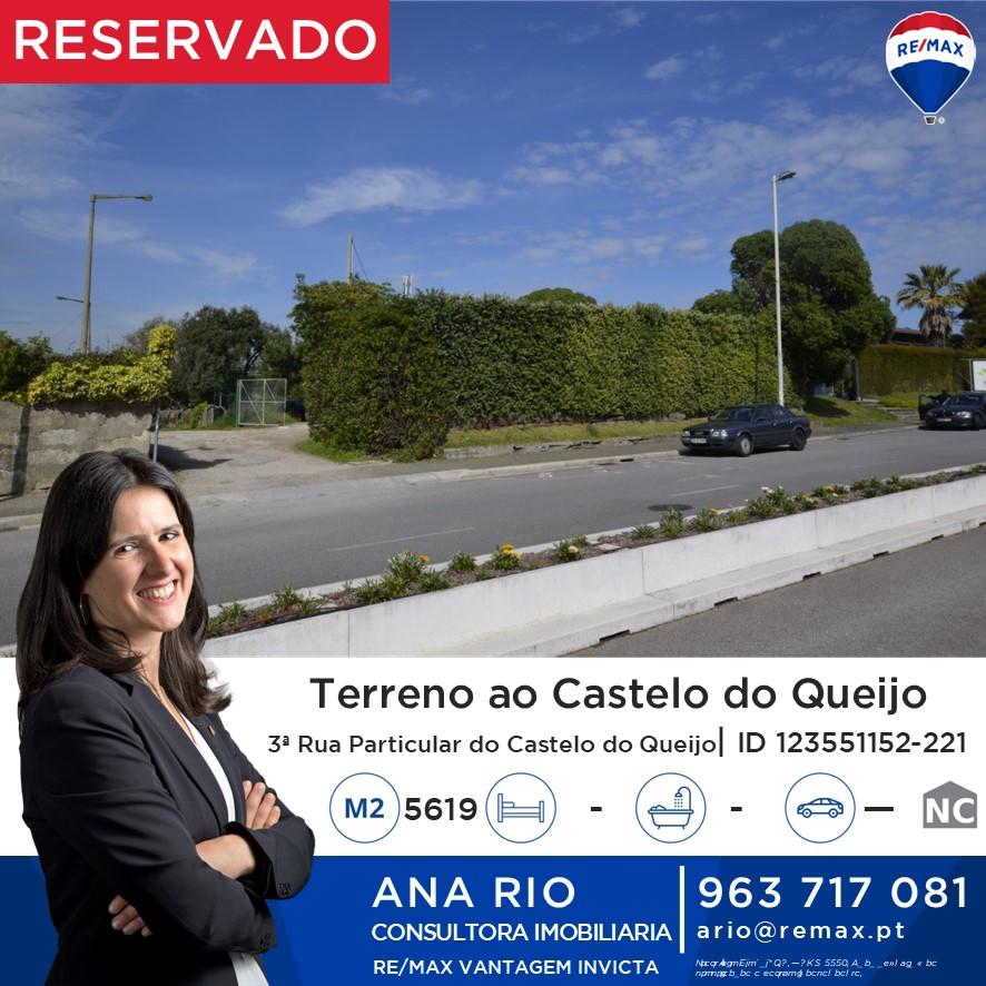 Reservado - Terreno ao Castelo do Queijo