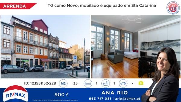 Arrenda T0 como novo em Santa Catarina