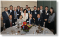 The Executive Boards of TIAA-CREF and China's National Social Security fund at a WorldView China dinner