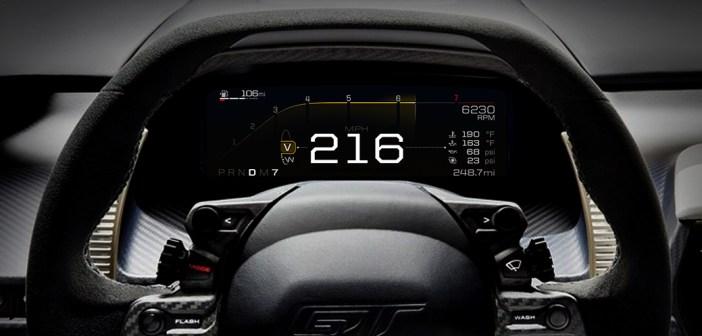 Ford GT Gösterge Paneli   Yeni Nesil Ford Gösterge Paneli