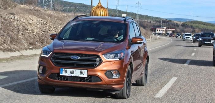 Makyajlı Ford Kuga 1.5 TDCI PowerShift Test Sürüşü | İncelemesi