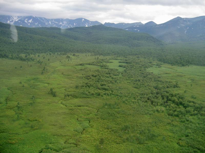 Над Налычевской долиной