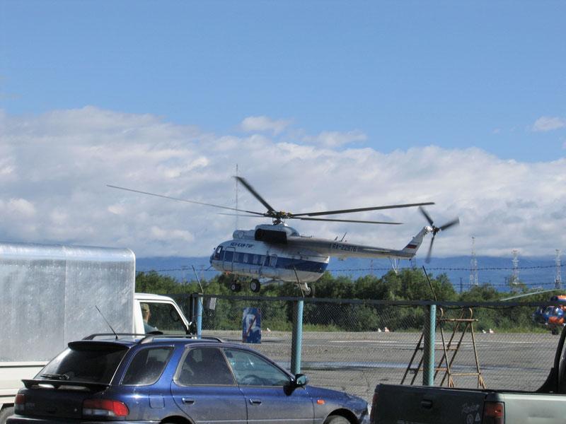Вертодром в Елизово
