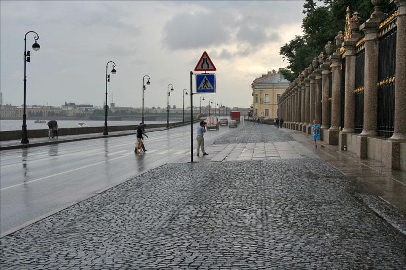 Набережная Невы у Летнего сада, Санкт-Петербург