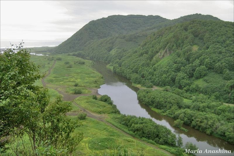 Река Халактырка, Камчатка