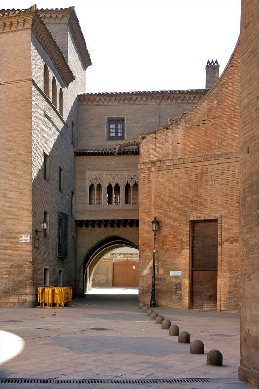 Старинная улочка, Сарагоса