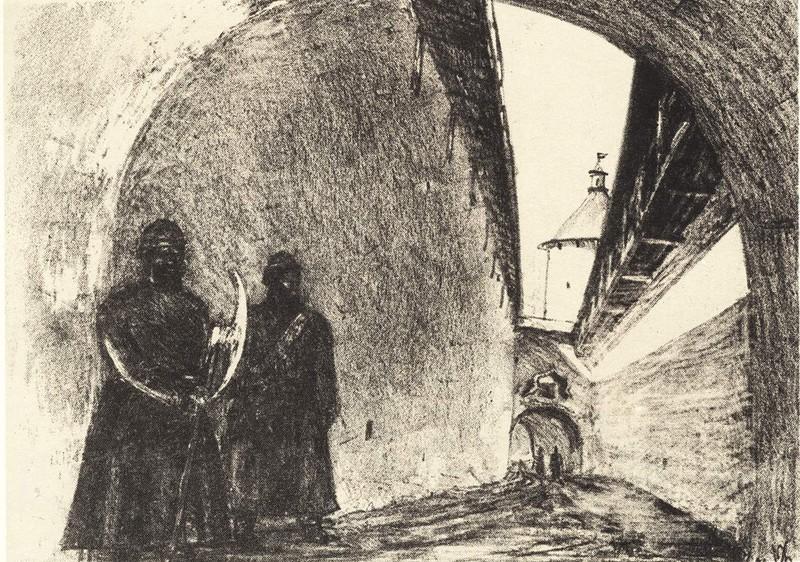 Вход в Кром (Темные ворота)