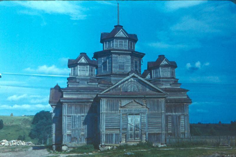 Тихвинская церковь, Саминский Погост