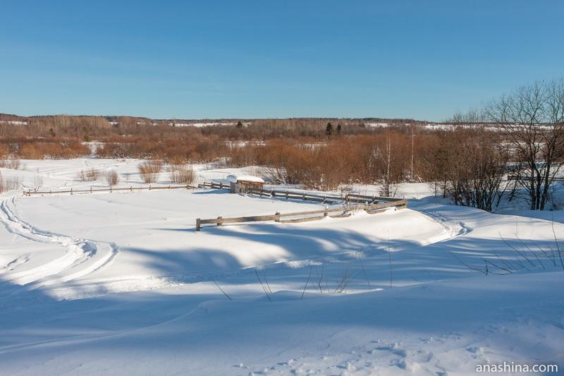 Окрестности села Никольское, Вологодская область