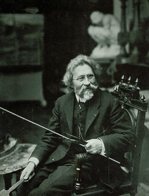 Илья Репин в 1909 году