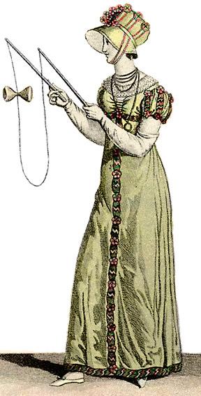 Женщина с диаболо, 1812 год