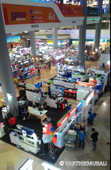Thailand 6 days Itinerary Pantip IT Plaza Bangkok